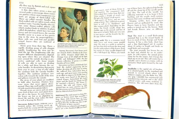 1972 Harver Junior Encyclopedia Volume 14 South Africa - Turks