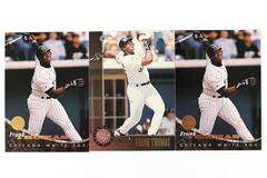 Lot of 3 Baseball Cards Chicago White Sox Frank Thomas DonRuss 1994 & 1996