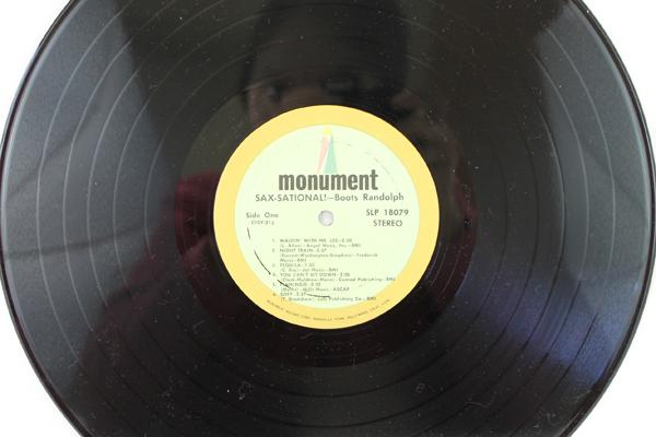 Sax Sational! Boots Randolph LP 1967 Monument Records MLP8079