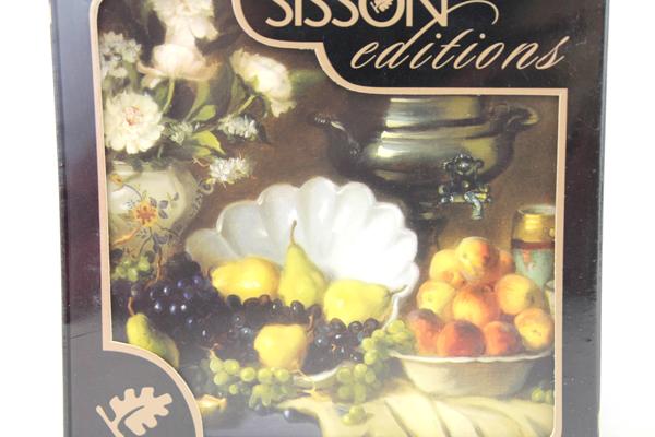 Sisson Editions Imports Cork Backed Still Life Coasters Set of 6 NIP Sealed