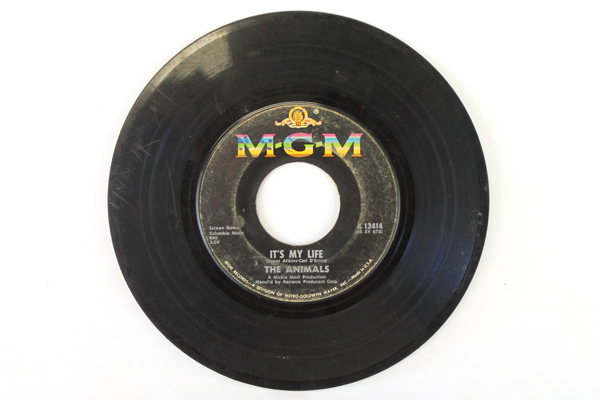 Lot of 4 Imperial & MGM Records 45 RPM - Ricky Nelson/Cher/Animals/Michael Parks