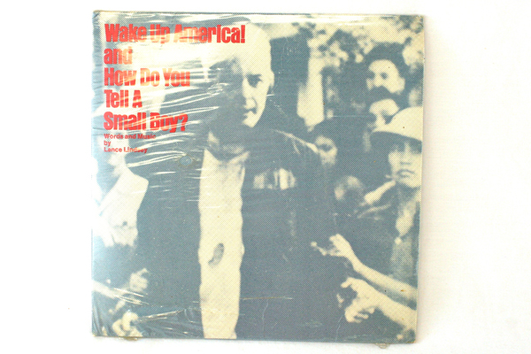 Lot of 2 45 RPM Records Sealed Lance Lindsey Wake Up America Robin Scott