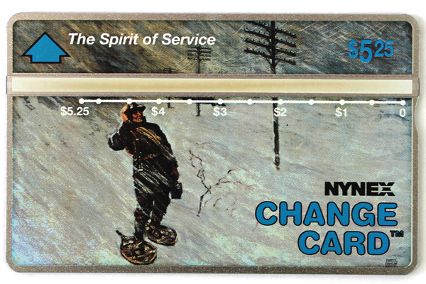 Lot of 3 Nynex Pioneer Spirit of Service Telephone Change Card Cabinet Phone