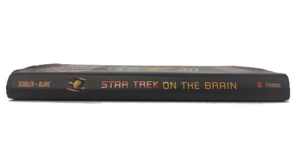 1998 First Printing Star Trek On the Brain: Alien Minds, Human Minds HBDJ