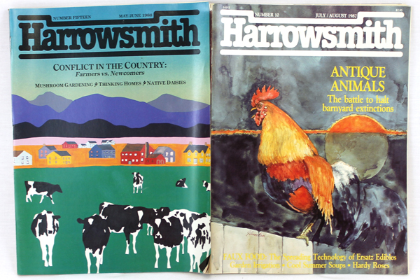 Harrowsmith July/August May/June 1987-88 - Vintage Magazine Vol. 2/3 No. 10/15