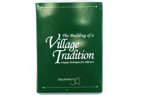 Dept 56 The Building of a Village Tradition VHS Tape 98841