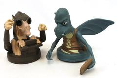 Star Wars Episode 1 Watto & Sebula Drink Topper Lid Figure Lucasfilm Pizza Hut