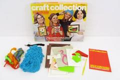 Craft Collection From Hasbro 1975 Four Creative Crafts in One Kit Ages 8 - Teen