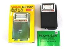 Vintage Kodak Ektron Electronic Flash Unit Model B in Box