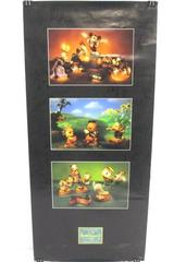 Walt Disney Classic WDCC Symphony Hour Three Little Pigs Donald Duck Wall Poster