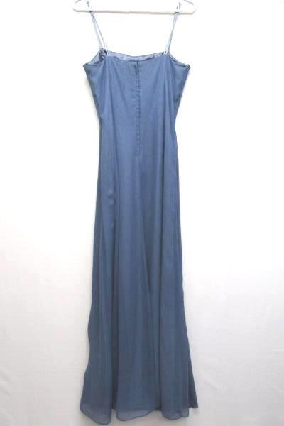 Jim Hjelm Occasions Blue Gown Spaghetti Strap A Line Prom Dress Formal 10