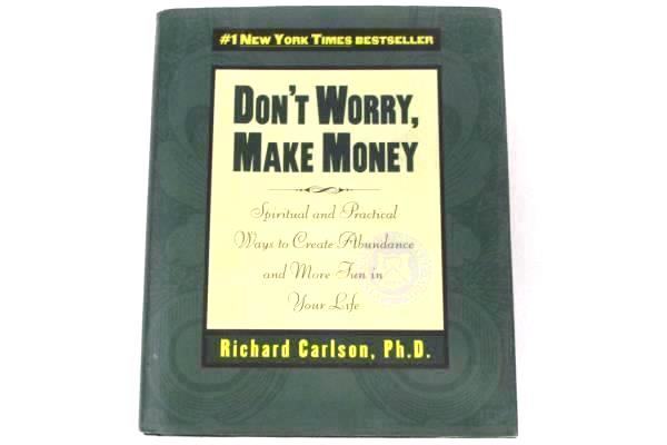 Lot of 2 Money Making Asset Strategies Books Todd Barnhart Richard Carlson Ph.D