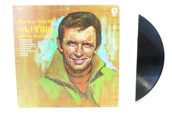 Lot Of 2 Records The Best / Very Best Of Mel Tillis & The Statesiders 1976/1971