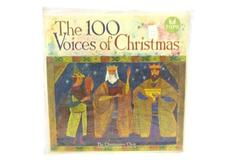 THE 100 Voices Of Christmas LP Christianaires Choir John Gustafson Tops L1697