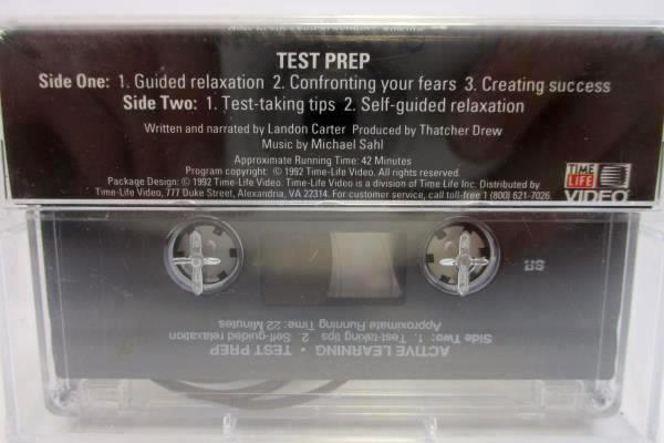 Active Learning How to Succeed in School & Life Cassette Tape Time Life 1992 NEW