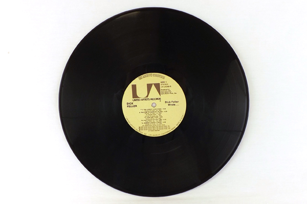 United Artists Records UA-LA349-R Dick Feller Wrote LP Credit Card Song and More