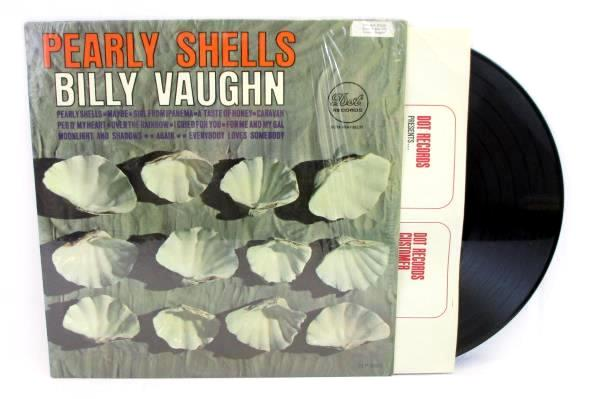 Billy Vaughn Pearly Shells LP Bachelor Pad Lounge Dot Records DLP 3605 In Shrink