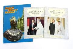 Lot of 3 Vintage British Magazine ~Princess Margarets Alexandras Wedding History