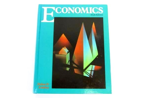 Economics by Edwin G. Dolan and David E. Lindsey 1991 Hardcover Revised Textbook