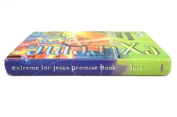 Extreme For Jesus Promise Book by Ron Luce 2000 Hardcover ~ Italy