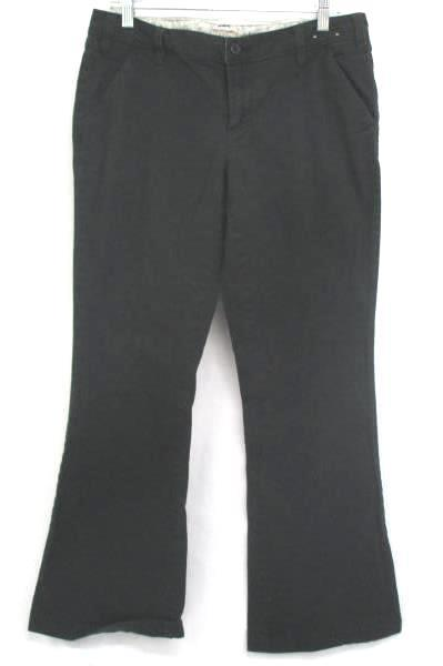 Lot of 2 Women's Junior Pants Jeans Arizona Black Slacks Distress 13