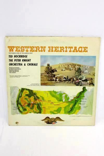 The Peter Knight Chorale And Orchestra / Ted Hockridge Western Heritage