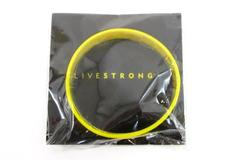 """Nike LIVESTRONG Cancer Yellow AUTHENTIC Bracelet Wrist Band L-XL 8"""""""