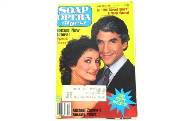 1983 Soap Opera Digest #16 Vol. 8 One Life to Live Michael Zaslow Robin Strasser
