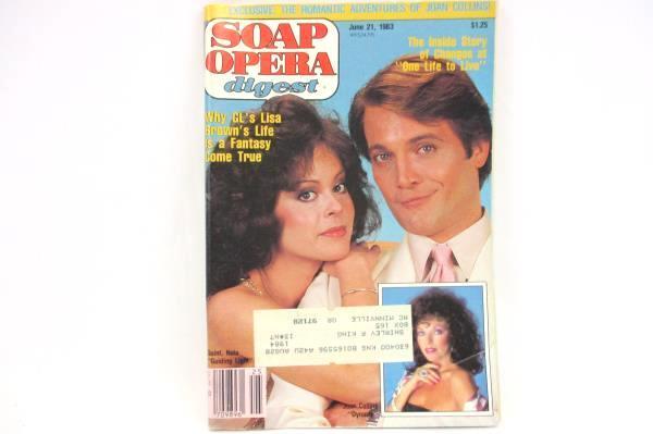1983 Soap Opera Digest #13 Vol. 8 GL Lisa Brown Michael Tylo Joan Collins