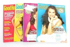 Lot of 4 Back Issues of Good Housekeeping Magazine Jan Feb March April 2010