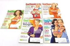 Lot of 5 Back Issues of Good Housekeeping Magazine 2010