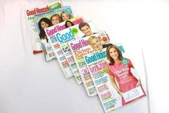 Lot of 6 Back Issues of Good Housekeeping Magazine 2009-2013