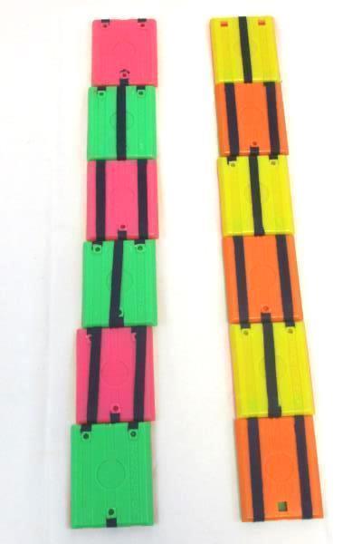 Set of 2 Vintage Tarco Flip Flop Block Game Made in Hong Kong