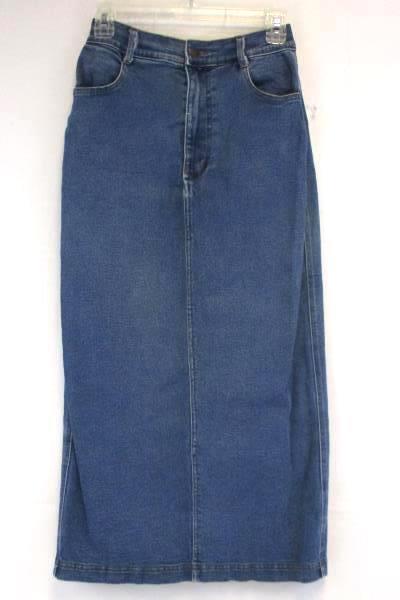 Lot of 2 Women's Casual Dress Saint Germain Top Size S W/ Denim Skirt Size S