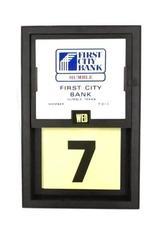 Vintage Vernon Company Lifetime Calendar Humble Texas First City Bank Plastic