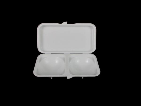 Lot of 2 Plastic Microwave Cooking Omelette Eggs Miracle Ware Progressive
