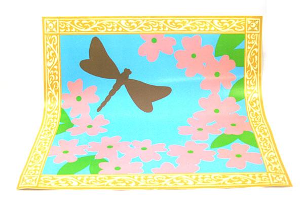 "Butch & Harold Peel & Stick Wall Decor Cornelia NOS Redecorate 25"" by 25"""