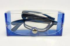 Collectible Souvenir Western Title Escrow Foldable Portable Reading Glass Case