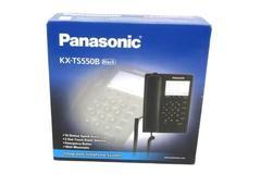 Panasonic KX-TS550B Black Integrated Telephone System Wall Mountable New In Box