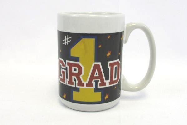 """Royal Norfolk Mug #1 Grad 4.5"""" Tall Greenbrier International 2018 Graduations"""