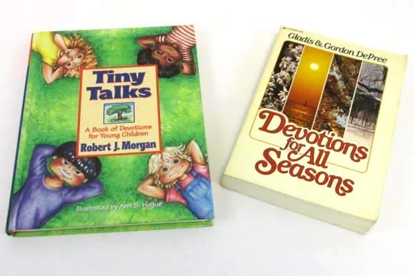 Lot Of 2 Devotional Books Parent And Young Child All Seasons