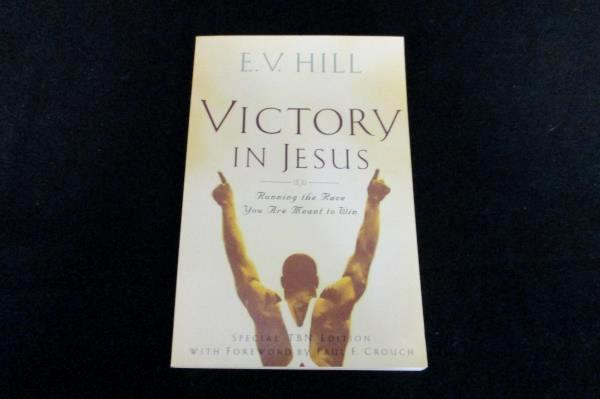 Inspirational Spiritual Book Lot: Victory in Jesus and Six Hours One Friday