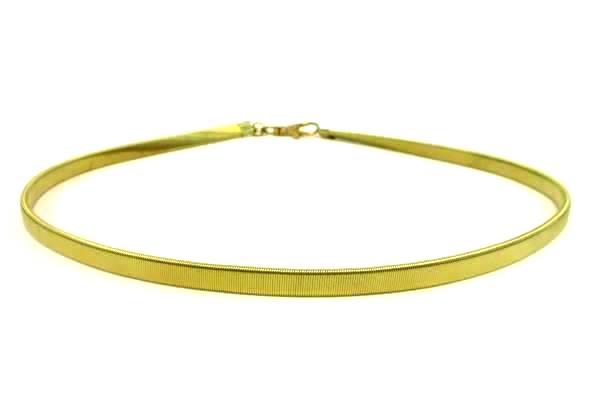 Vintage Women's Waist Belt Gold Stretch 1980's Style Fashion