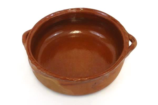Handmade Stoneware Pottery Handled Bowl Serving Southwest Style Rustic Country