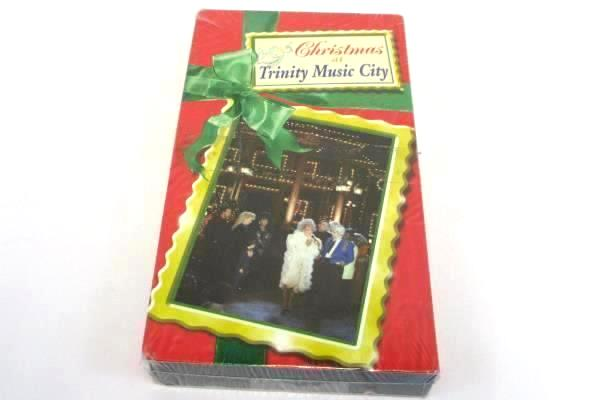 Christmas at Trinity Music City TBN Country Holiday Video Rare ~ New VHS Movie