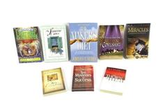 Lot of Religious Christian Paperback Books Inspirational Self Help