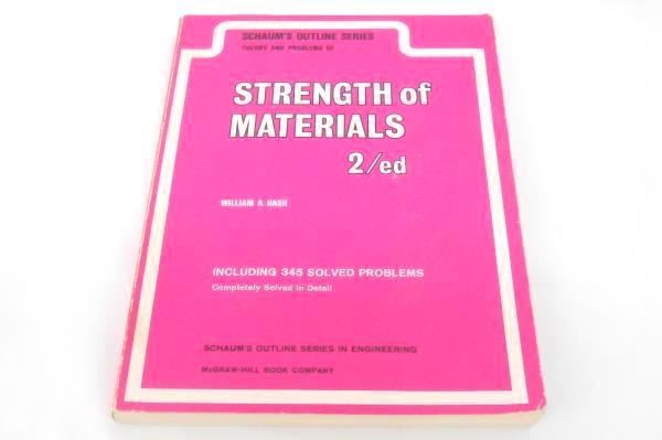 Lot Of 4 VTG Books Engineering Mechanics-Network Analysis-Strength of Materials+