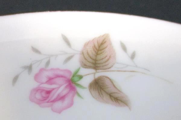 White China Tea Roses Gold Trim Bowl Replacement Made in China