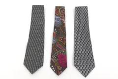 Neckties Lot Of 3 Pierre Cardin Jimmy Gold City Business Attire