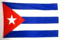 Full Size CUBA Flag Red White Blue Star
